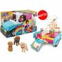 Barbie Casa Móvil De Perritos Convertible Camioneta Dly33