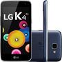 Smartphone Lg K4 Dual Chip Desbloqueado Android 5.1 Tela 4.5