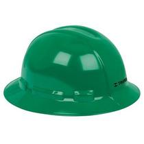 Casco De Seguridad Ala Ancha Verde Truper 10572