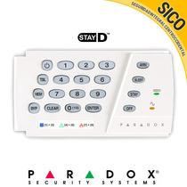 Teclado Paradox Led Kr636 - Alarma 10 Zonas