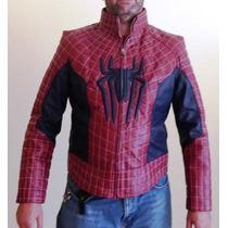 Chamarras Spiderman 100% Piel De Borrego!!!!!!!