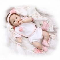 Boneca Bebe Reborn Real E Linda/vinil Silicone*pronta Enrega