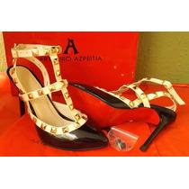 Zapatillas Finas Arthuro-azpeitia Moda Dama Tacon Aguja Sexy