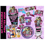 Kit Imprimible Monster High Etiquetas Fiesta Invitacion