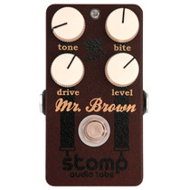 Pedal Guitarra Stomp Audio Labs Mr. Brown Distorção Crunch