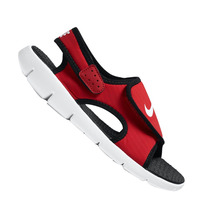 Sandália Nike Infantil Sunray Adjust Preta E Vermelha