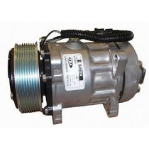 Compressor Universal 7h15 8 Orelhas 8pk Novo Original Sanden
