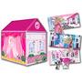 Educando Casita Fashion 2 En 1 Barbie Nena Tv 101-0024
