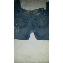 Pantalon Jean Pima Cotton Tubo Slim Caballeros Talla 32