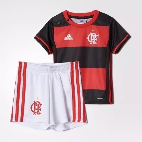 Kit adidas Baby Original Uniforme Flamengo Az8190 1magnus - R  89 4a4e719d51acb