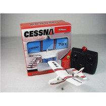 Cessna 781 Eléctrico 2 Ch Infrared Remote Control Rc Airpla