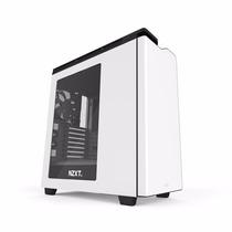 Gabinete Gamer Nzxt H440 Blanco Usb 3.0 Fan X3 Mid Tower Atx