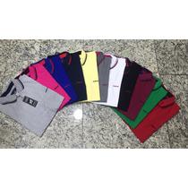 Kit C/3 Camisetas Gola Polo Masculina Da Colcci