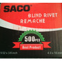 Remaches 5x32 3/8 Marca Saco