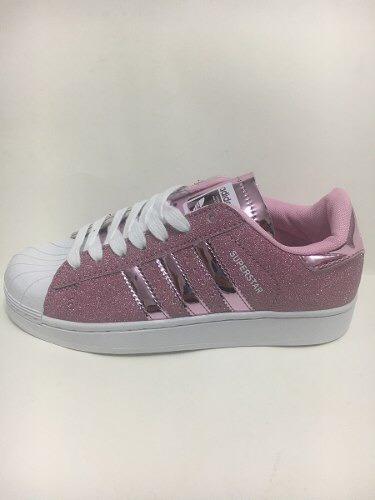 lowest price f0629 5496c ... official store adidas superstar glitter pink rosas 2.60000 en mercado  libre bdcf9 335a5