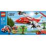 Incendio En La Ciudad Plano Conjunto Lego 4209