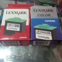 Cartucho Lexmark Compaq 26 Color X74 X75 Z13 Z23 Z33 Ij650