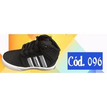 Tênis Adidas Infantil Preto - Tamanho 26 Ao 34