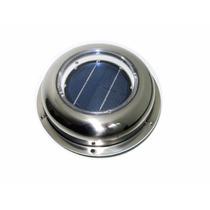 Ventilador Solar De Atico, Bote, Bodega Para Techo O Pared