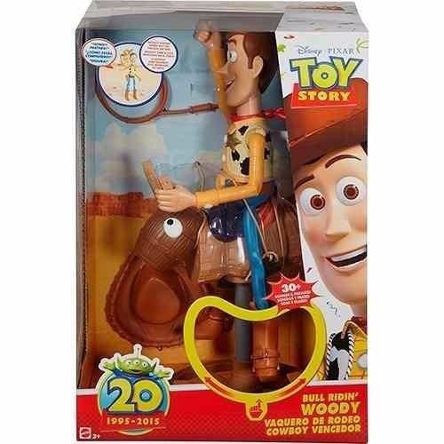 25ca568f66ecb Toy Story Woody Vaquero De Rodeo 20 Aniversario Martoyz -   36.990 en  Mercado Libre