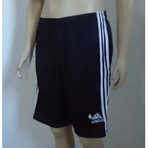 Bermuda Masculina Adidas Ideal Para Academia Kit 5 Unidades