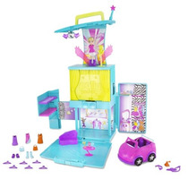 Polly Pocket Pop N Lock Mundo Rockin Moda Mágica Etapa