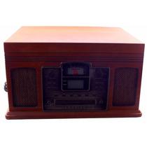 Vitrola Vintage Crosley Radio Cr245 Cd Vinil Usb 120v A8046