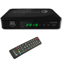 Conversor Tv Digital Hdtv Ekotech Zbt 670-n Cabo Hdmi Grátis