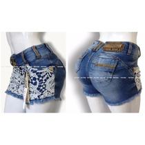 Short 36 Rhero Estilo Pit Bull Pitbull Jeans Modela Bumbum!