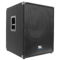 Sísmica De Audio - 18 \ Pa Subwoofer Audio Pro Banda Gabine