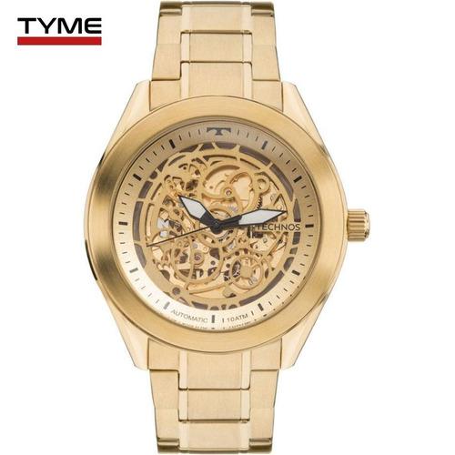 86708d3d823 Relógio Technos Masculino Automático 8n24ah 4x Esqueleto Nfe - R  827