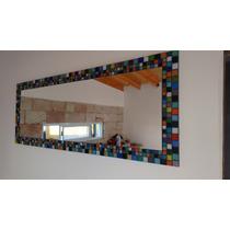 Espejo Con Venecitas Multicolor
