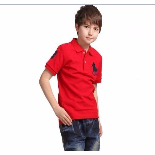 e5f83016b4 Camisa Polo Infantil Com Calça Jeans Infantil - R  89