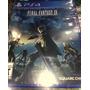 Final Fantasy Xv ( 15 ) Nuevo Y Sellado Ps4 Stock (fortum)