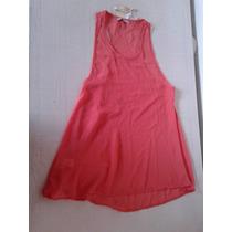 Vestido Color Coral Transparente Como Quieres Que 40 Nuevo!