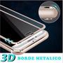 3d Vidrio Templado Borde Metal Iphone 7/7plus Alta Gama