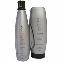 Kit Aneethun Blond System Matizante - Shampoo+máscara
