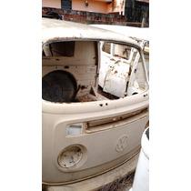 Vw Volkswagen Perua Kombi Sucata 1979 Bege Carcaça Peças