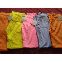 Lote De 4 Pantalones Quarry Jeans Strech