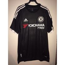 Jersey Chelsea Negro Adidas Talla M, Oscar # 8 Nuevo