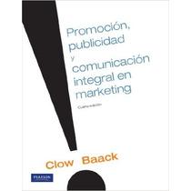 Promocion, Publicidad Y Comunicacion En Marketing -clow
