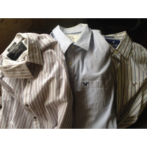 Camisas American Eagle & Dockers; Bellas Como Nuevas..