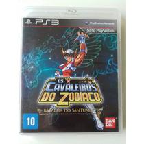 Cavaleiros Do Zodiaco A Batalha Do Santuário Ps3 Blu-ray