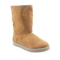 Bota Casual Economica Para Mujer Liso Melle - A128me5
