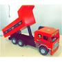 Caminhão Caçamba De Madeira Mdf Artesanal - Brinquedo