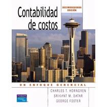 Libro: Contabilidad De Costos - Un Enfoque Gerencial - Pdf