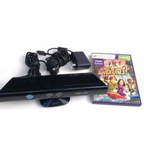 Sensor Kinect Xbox360 Com Jogo Kinect Adventures