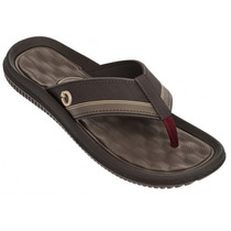 Chinelo Cartago Fiji Iv Masculino Massageador - 11020 Marrom