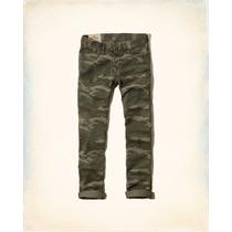 Pantalon Hollister Skinny Entubado Talla 34x34 Nuevo