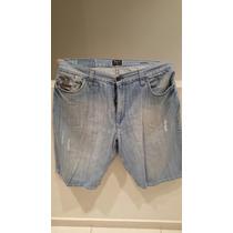 Bermuda De Jean Hombre Ríp Curl De Jeans Talle 36